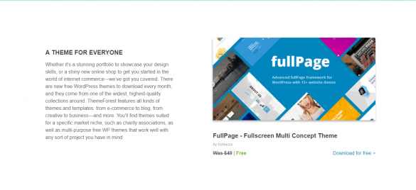 ThemeForest Free WordPress Themes February